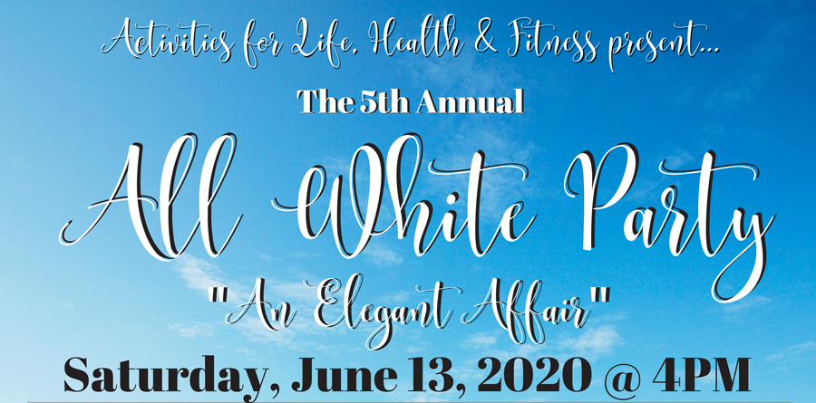 5th Annual All White Party ~ An Elegant Affair