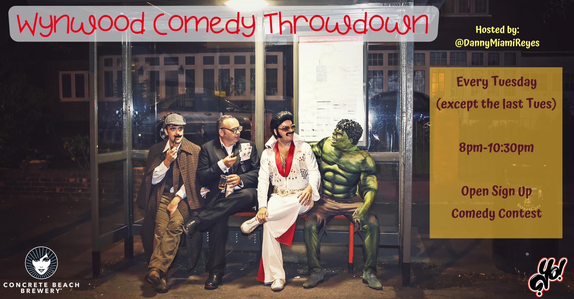 Wynwood Comedy Throwdown ON HOLD