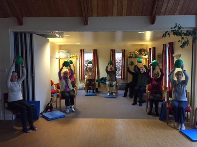 Pilates for Parkinson's: Fridays at Ferry Road (2020)