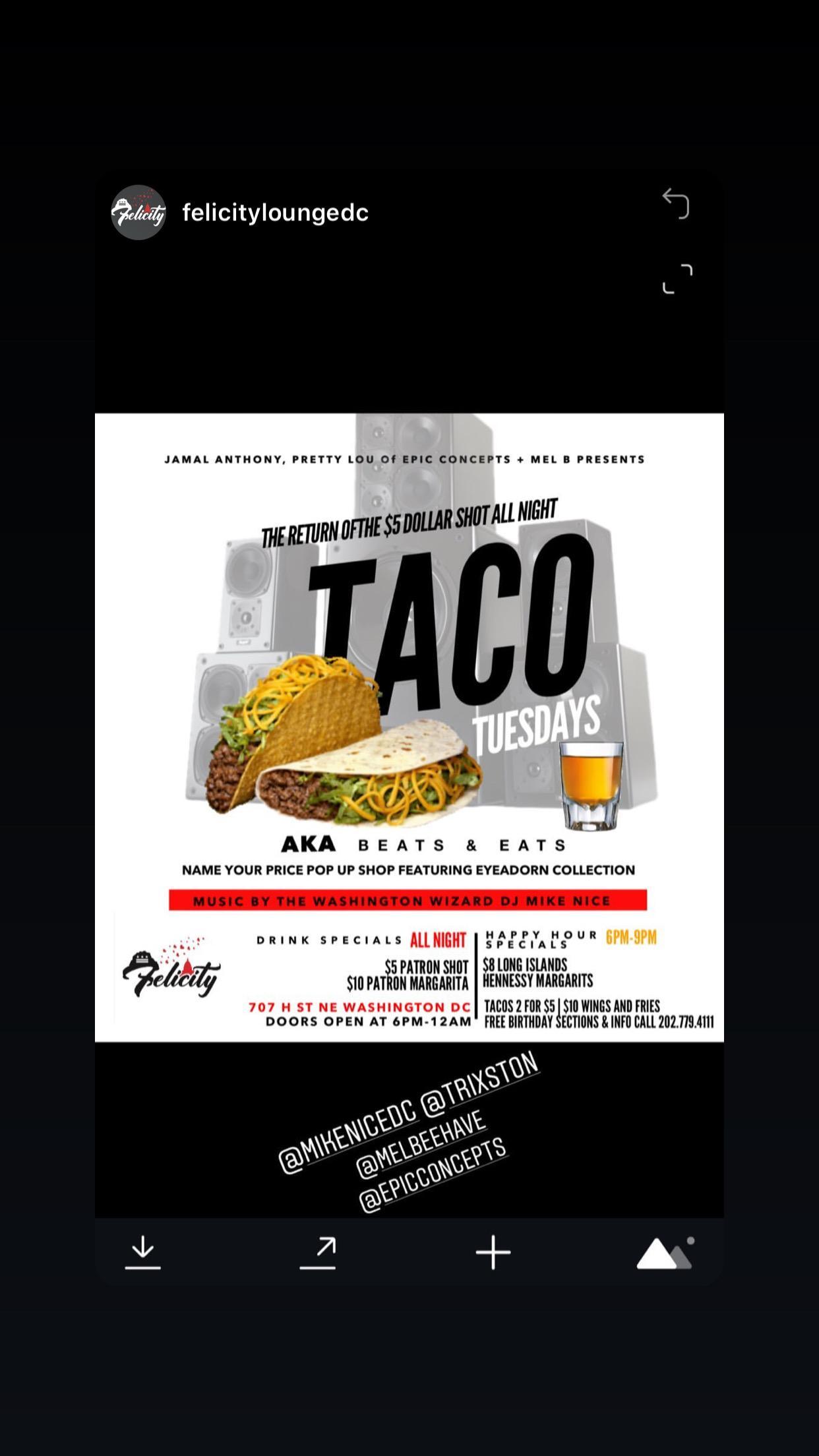 Taco Tuesday aka Beats and Eats