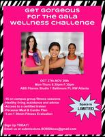 4-Week Wellness Challenge... Get Gorgeous for the Gala