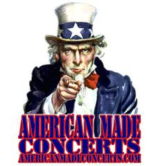 AMERICAN MADE CONCERTS logo