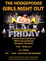 GIRLS NIGHT OUT BLACK FRIDAY - TURNT UP NETWORKING...