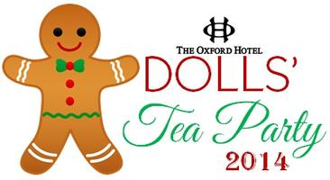 Dolls' Tea Party at The Oxford Hotel - 12:30pm Seating