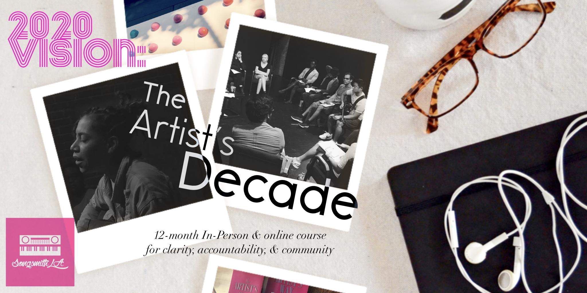 2020 Vision: The Artist's Decade 12-Month Workshop Circle