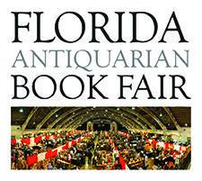 Sarah Smith, Manager, Florida Antiquarian Book Fair logo