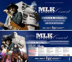 """Chuck Brown's """"M.L.K Tribute Concert"""" Feat Familiar..."""