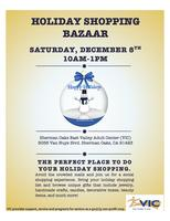 Holiday Shopping Bazaar