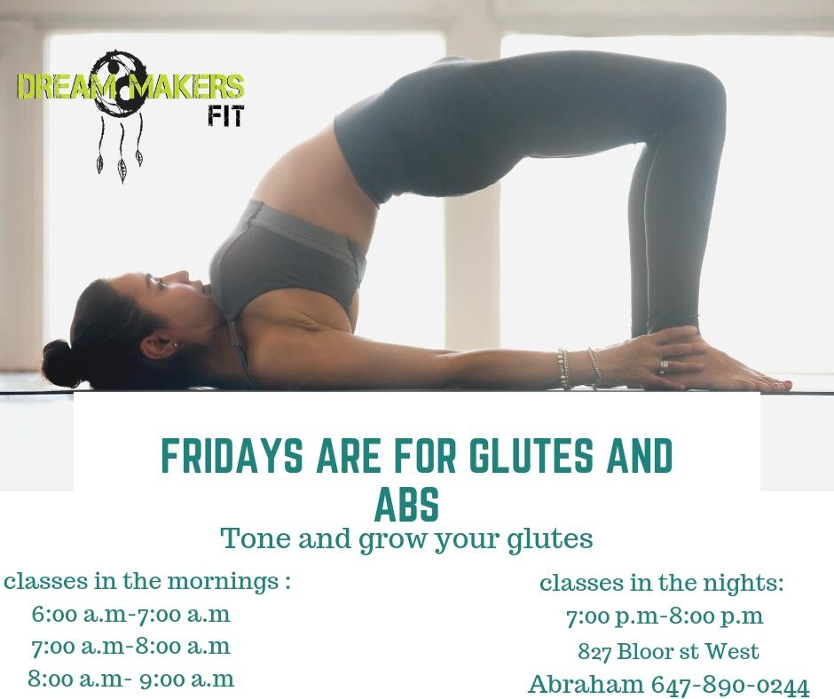 LEGS AND BUTT CLASS (GET TONE AND BIGGER)