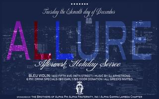 Allure | Afterwork Holiday Mixer