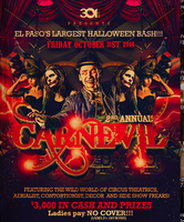 2nd Annual CARNEVIL El Paso's LARGEST HALLOWEEN BASH...