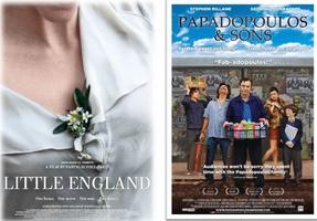 Double Bill: Little England, Papadopoulos & Sons