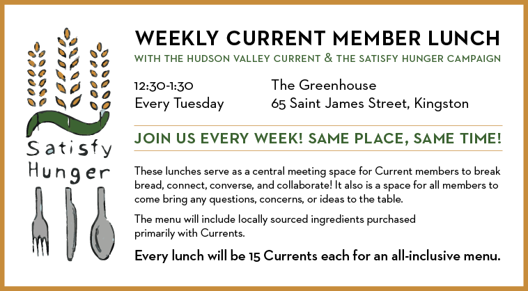 Weekly Current Member Lunch
