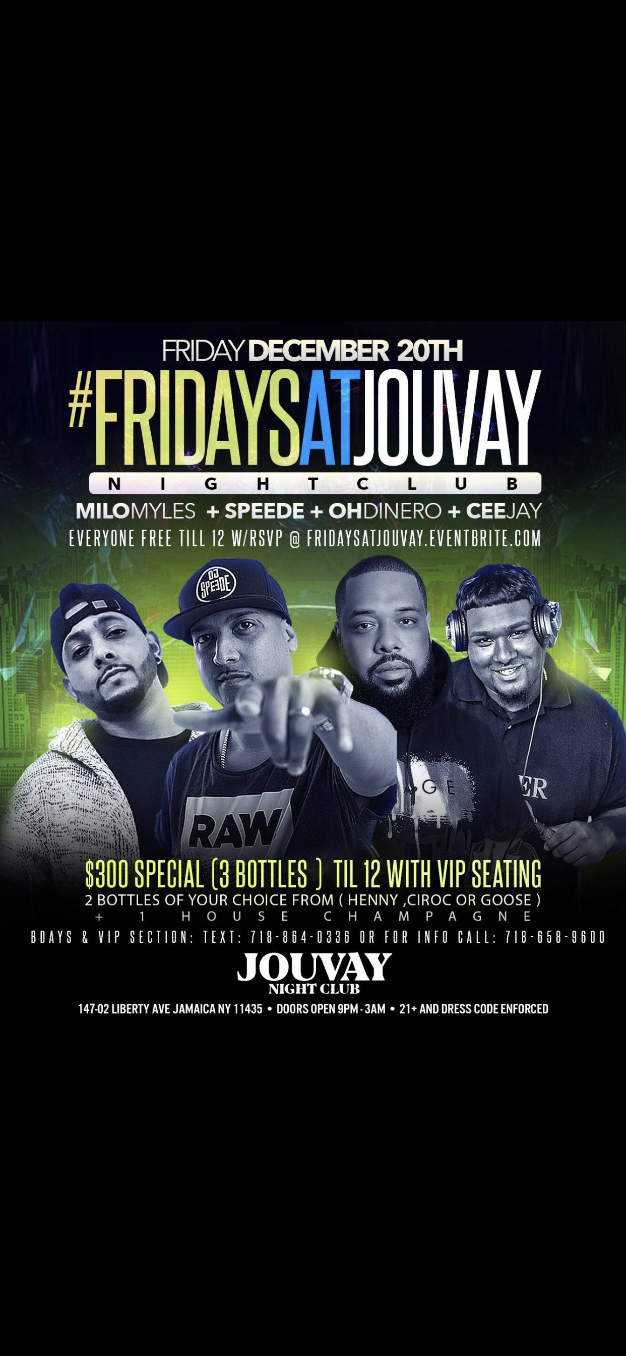 FUSION FRIDAYS AT JOUVAY HOSTED BY TEAMINNO