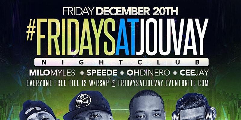 Fridays at Jouvay Nightclub #TEAMINNO