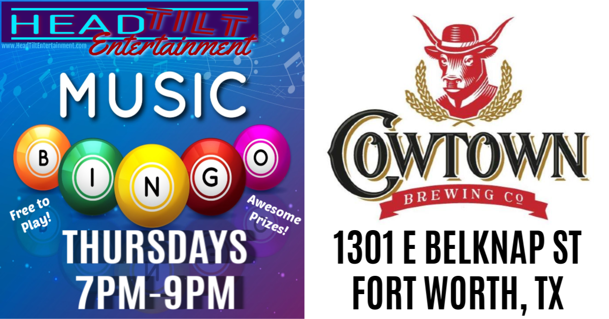 Music Bingo at Cowtown Brewing Co - Fort Worth, TX
