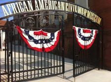 African American Civil War Museum  logo