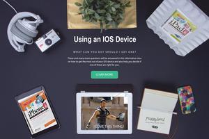 Using an IOS Device like an iPhone or iPad