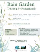 Rain Garden Training for Professionals