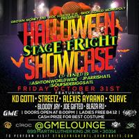 "Halloween ""Stage Freight"" Showcase @ GME Lounge"