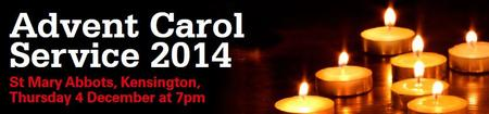 Christian Aid ADVENT CAROL SERVICE 2014