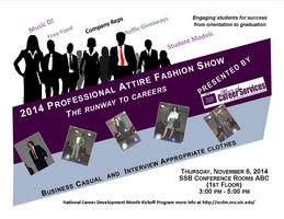 2014 Professional Attire Fashion Show: The Runway to...