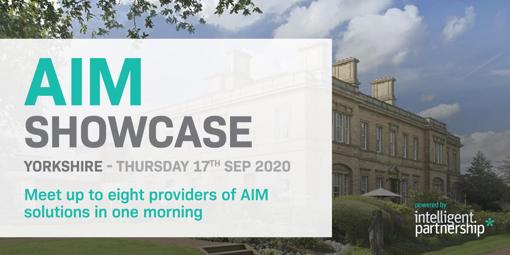 AIM Showcase 2020 | Yorkshire