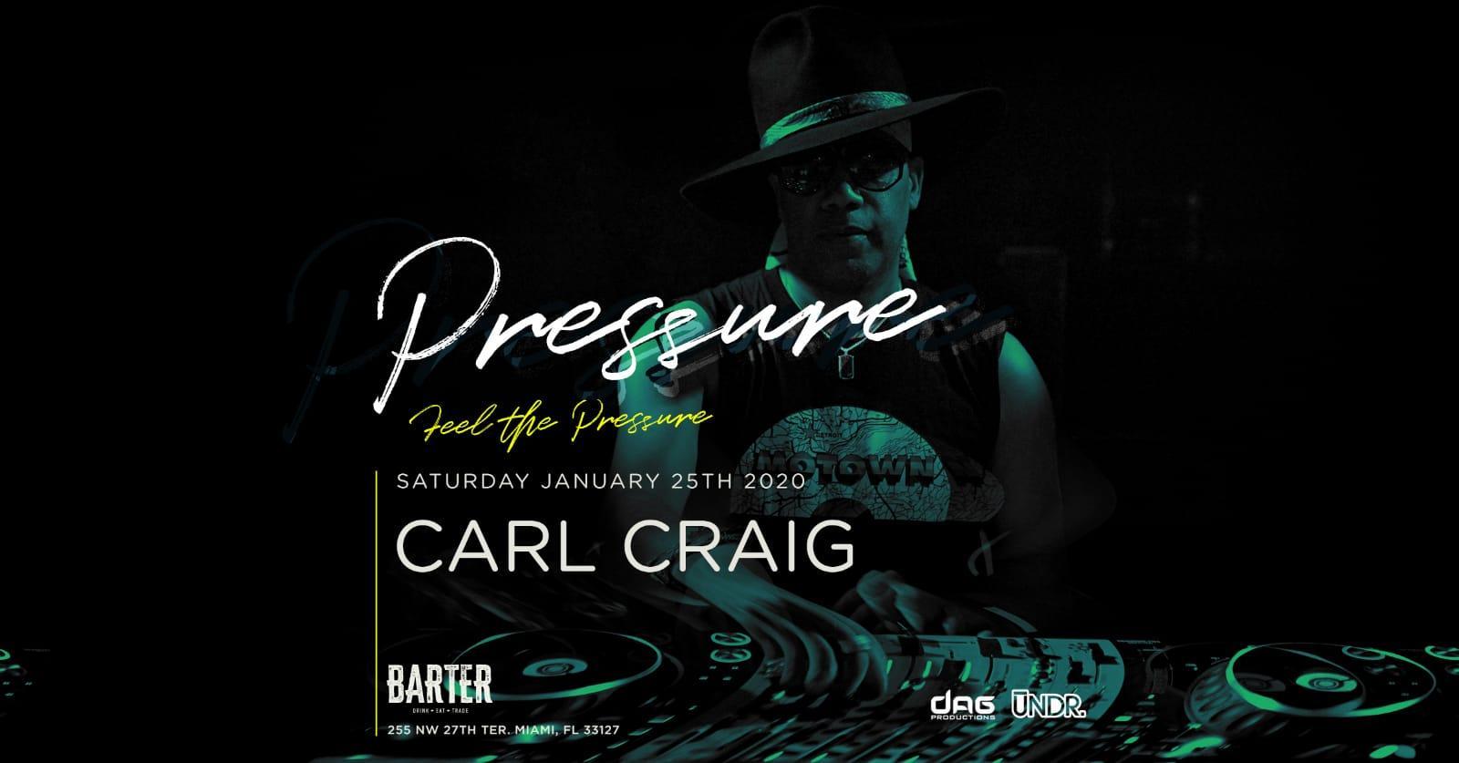 DJ Carl Craig at Barter Wynwood