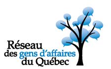 RGAQ Reseau des gens d'affaires du Quebec logo