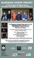 Bluegrass Gospel Project at the Vergennes Opera House