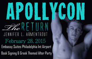 ApollyCon - The Return by Jennifer L. Armentrout...