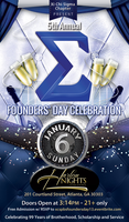 The Men of Xi Chi Sigma present 5th Annual Founders'...