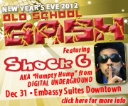 NEW YEAR'S EVE OLD SCHOOL BASH | FEATURING SHOCK G. OF...