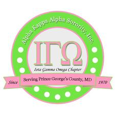 Alpha Kappa Alpha Sorority, Incorporated, Iota Gamma Omega Chapter logo