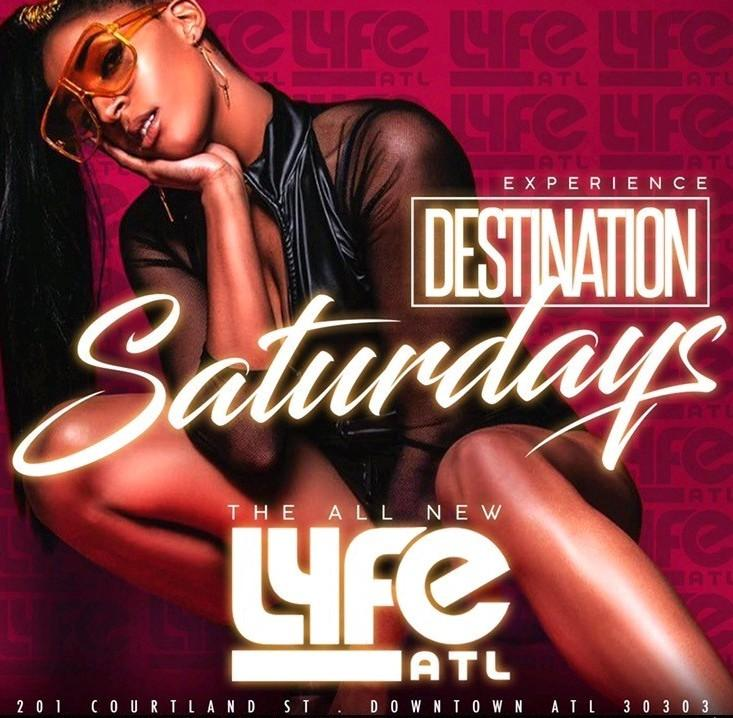 FREE VIP/ Birthday SECTION Life Life Saturdays @ LYFE Lounge