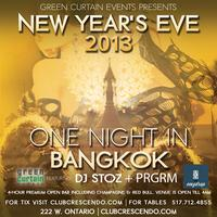 New Year's Eve 2013 at Crescendo