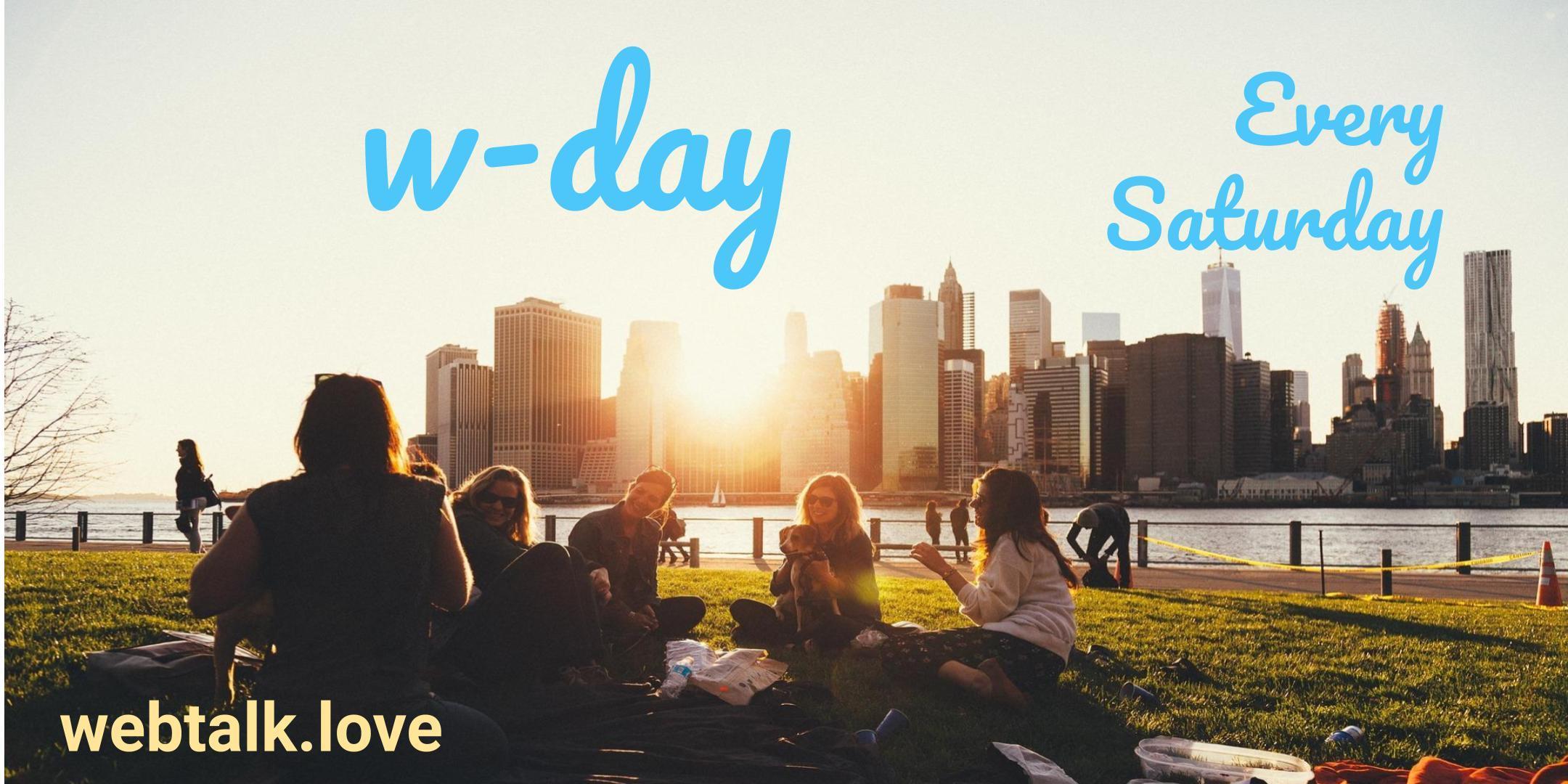 Webtalk Invite Day - Manchester - UK - Weekly