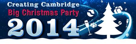 Creating Cambridge BIG Xmas Party 2014