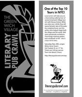 IAAC Literary Festival Pub Crawl