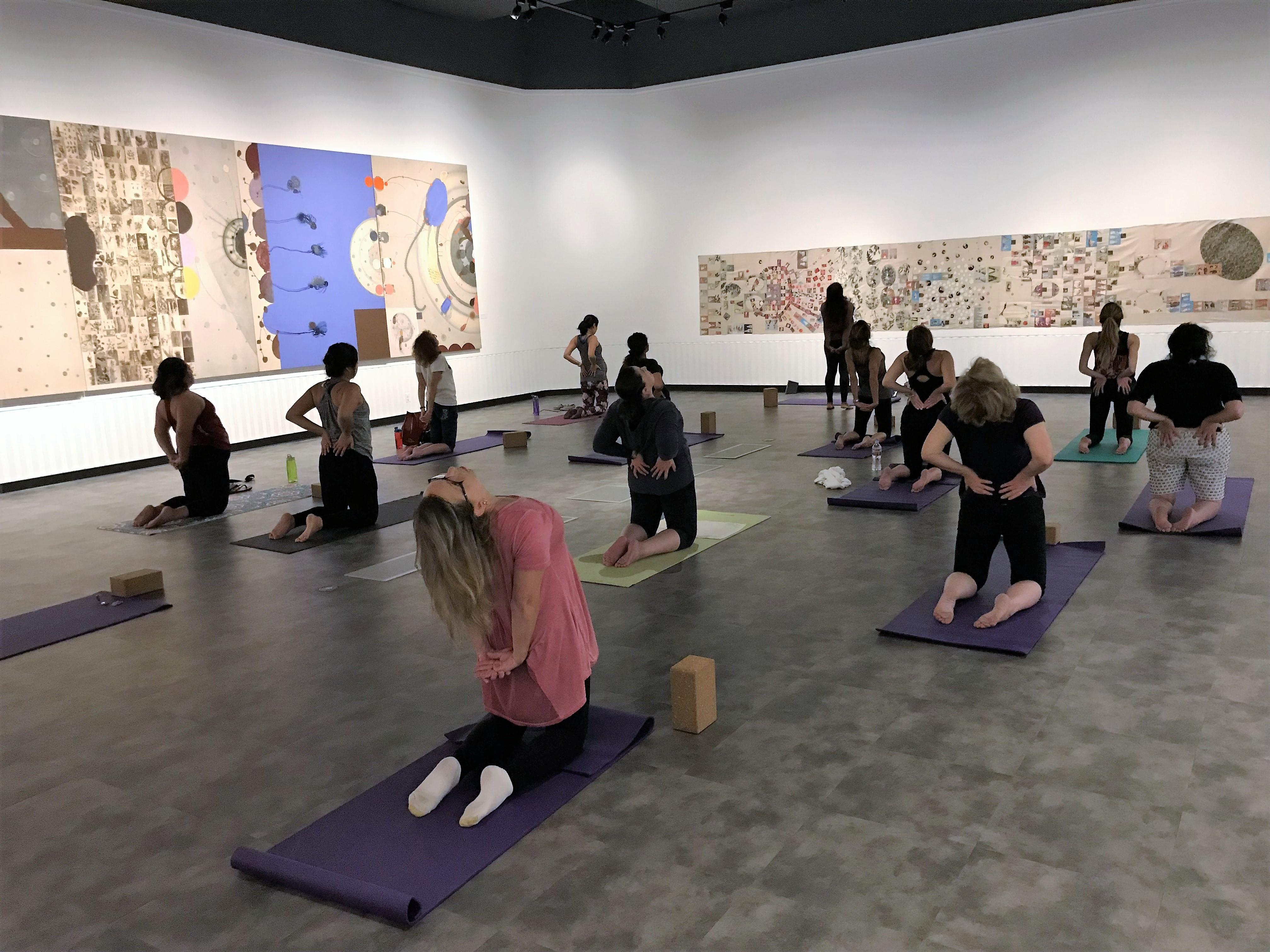Yoga at Fisher