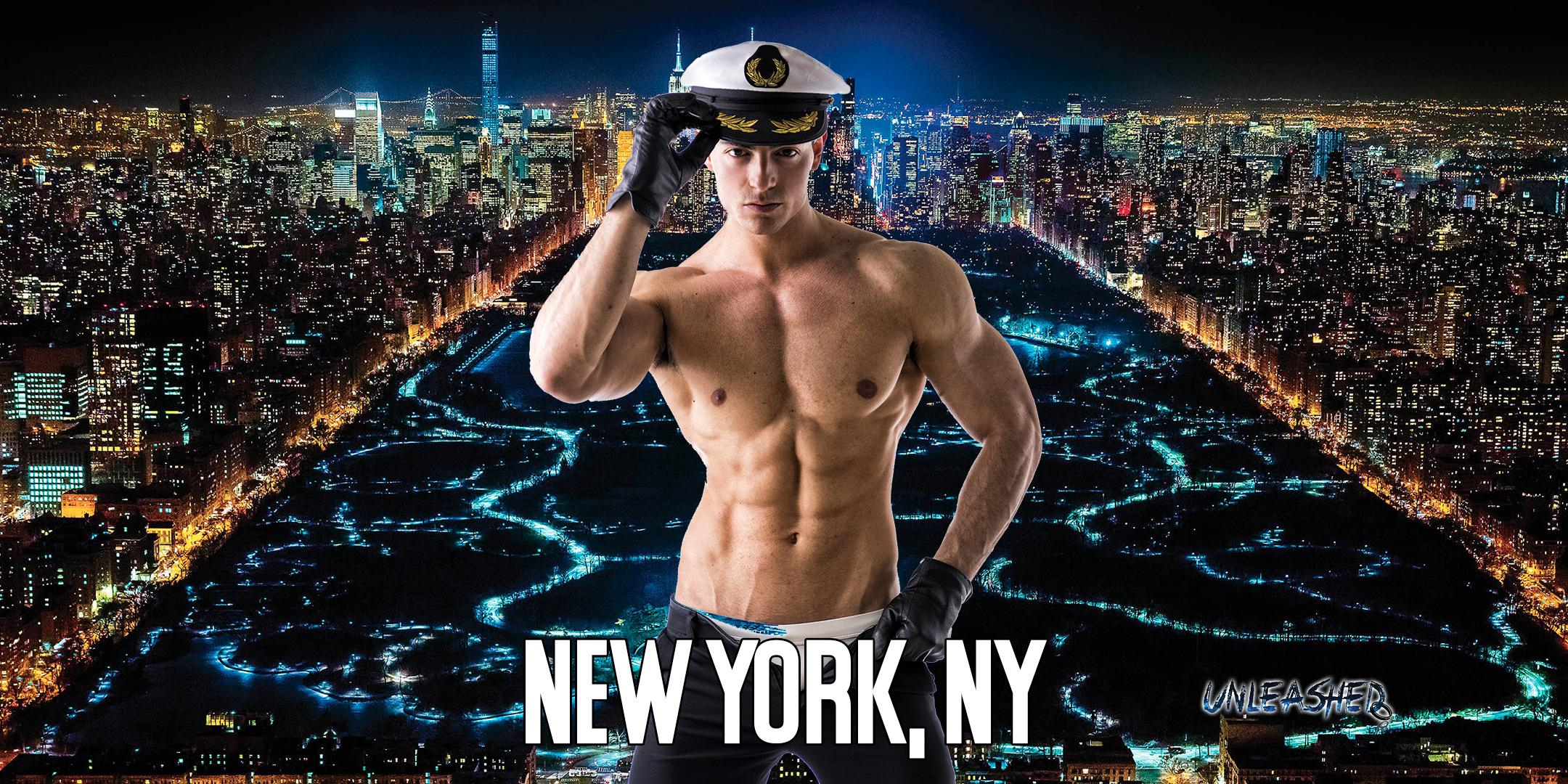 Male Strippers UNLEASHED Male Revue New York City NY 9-11PM