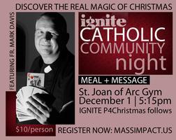 IGNITE Catholic Community Night | Presence for...