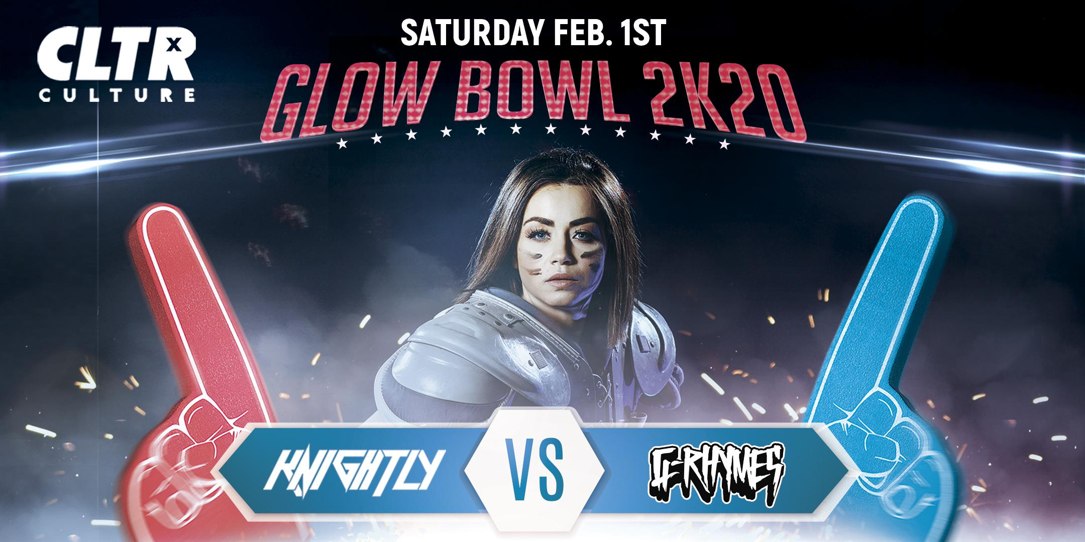 CLTR Saturdays Presents: Glow Bowl 2K20