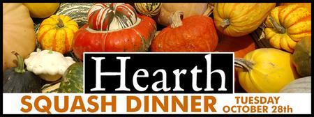 Autumn Squash Dinner 2014