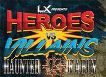 Heroes VS Villains Halloween Party