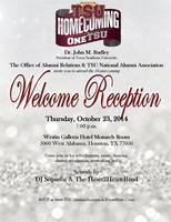 Alumni Welcome Reception
