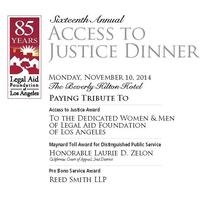 16th Annual Access to Justice Dinner