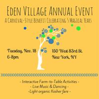 The Eden Village Annual Benefit 2014 - VIP Registration