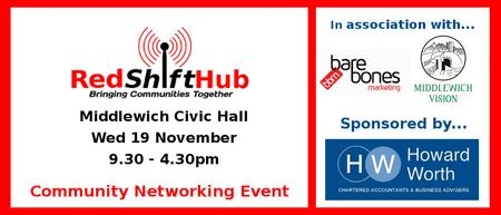 RedShift Community Hub Day - Middlewich