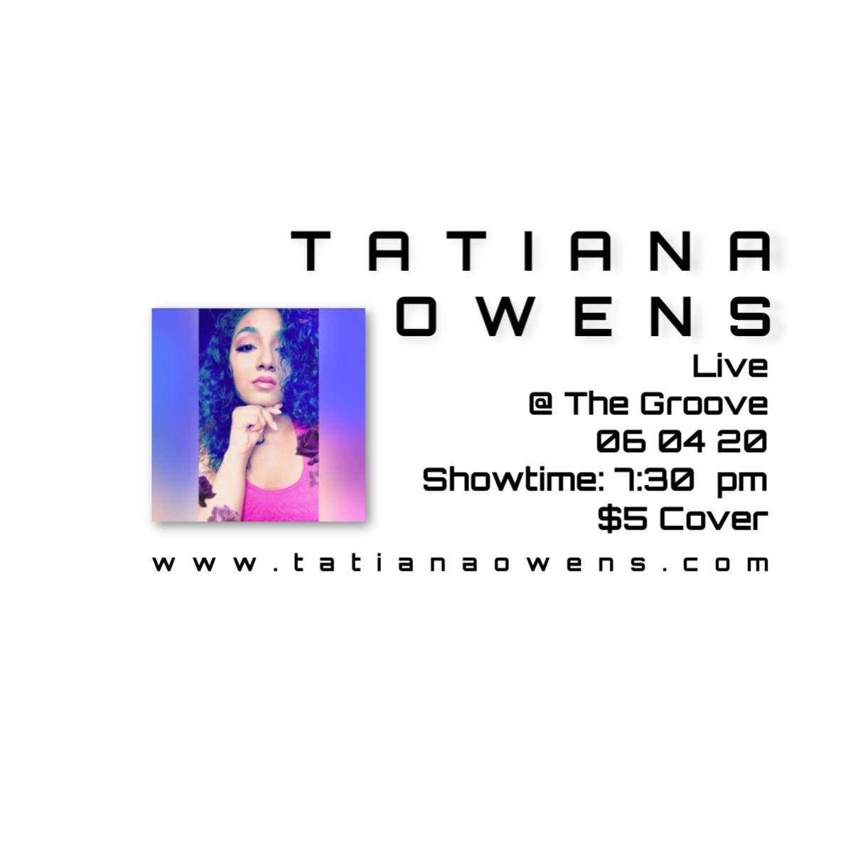 Tatiana Owens at The Groove in Greenwich Village